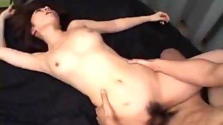 Japanese AV Model amazes with her skills