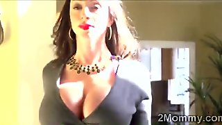 Big stacked Latina housewife got her pussy examined