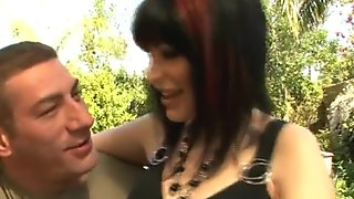 Hot milf and young teen girl in threesome