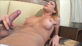 Compilation of shemale masturbation