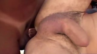 Lea and her BF fuck with two tranny?s