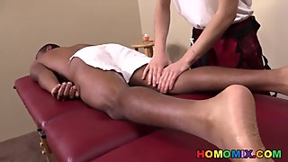 Hans Wunderkint Gets Fucked By His Black Client