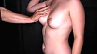 Girl next door Sucks off strangers in gloryhole