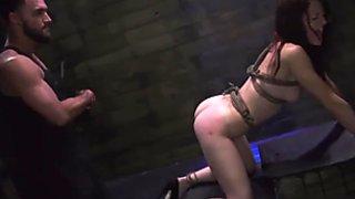 Zafira bondage and brutal dap compilation
