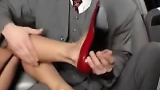 naughty-hotties.net - Sexy Busty Milf Fuck in Limousine.flv